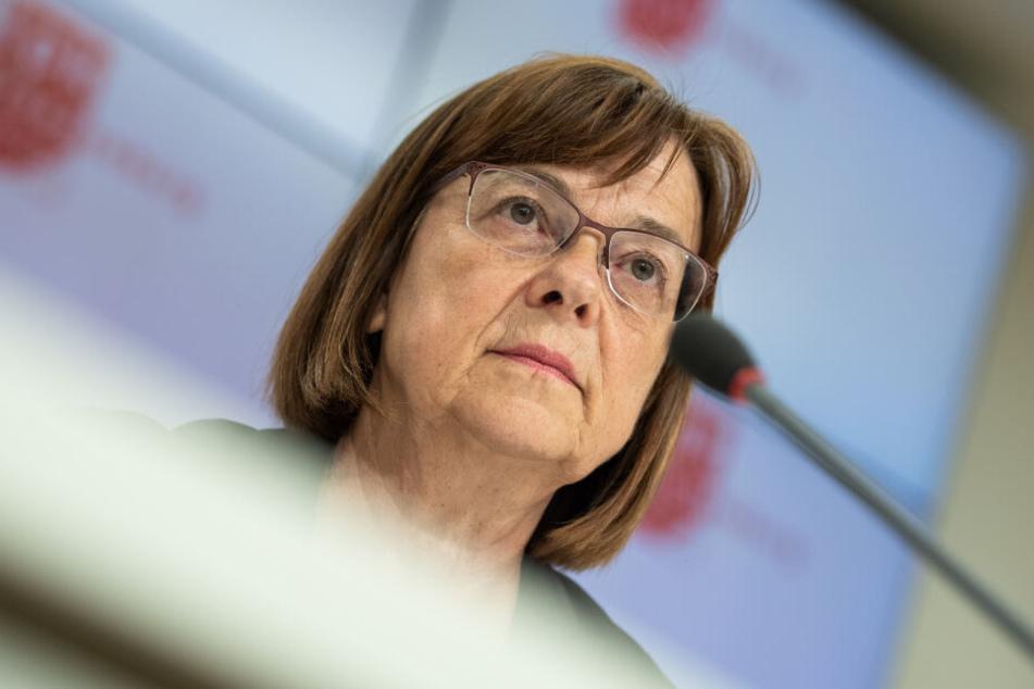 Grünen-Fraktionschefin Ursula Nonnemacher hofft auf eine Zustimmung ihrer Partei für die rot-schwarz-grüne Koalition.