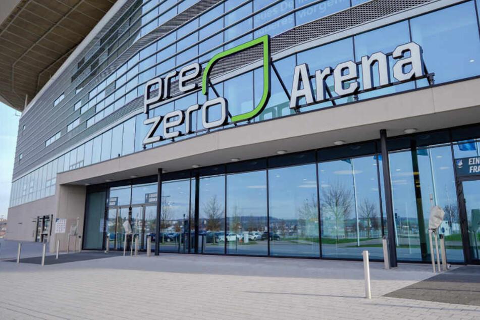 Jetzt mit neuem Namen: die PreZero Arena.