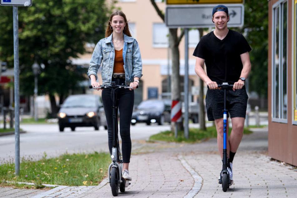 Leipziger können bald mit E-Scootern durch die City düsen