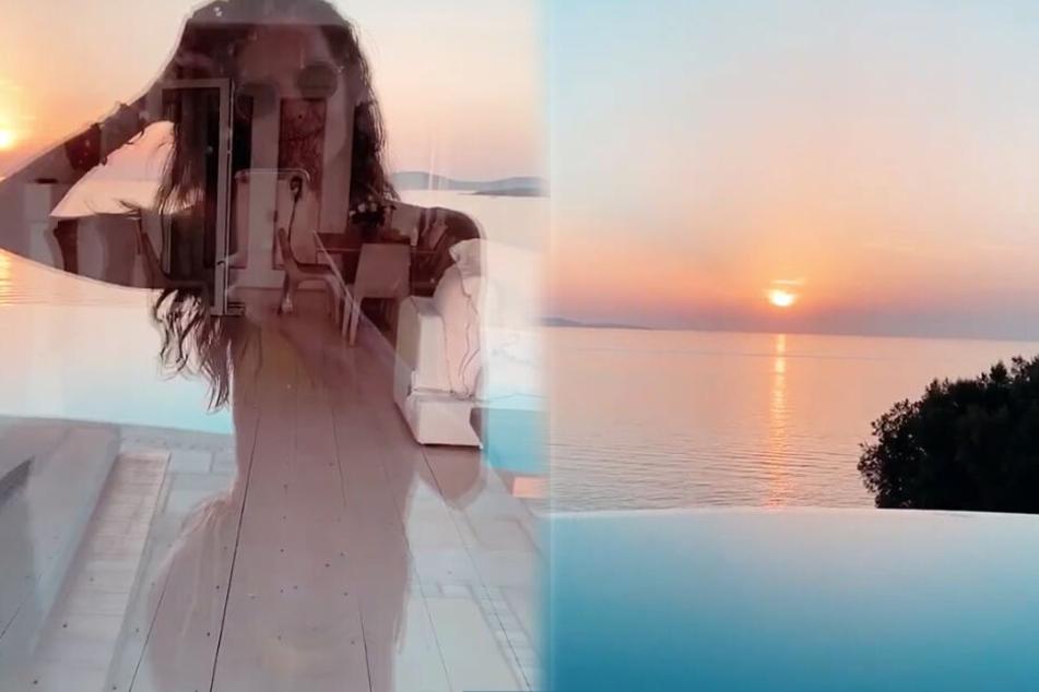 Die Montage zeigt zwei Screenshots aus einer Instagram-Story von Izabel Goulart.