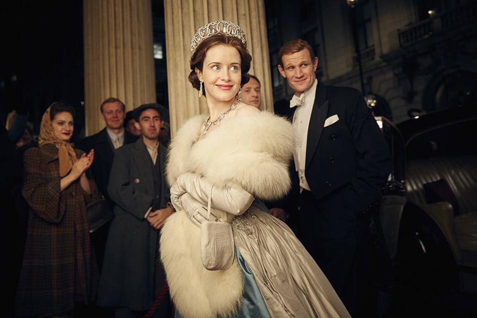 """""""The Crown"""" dreht sich um das Leben der jungen Elizabeth. Die Serie wurde bereits mehrfach ausgezeichnet."""