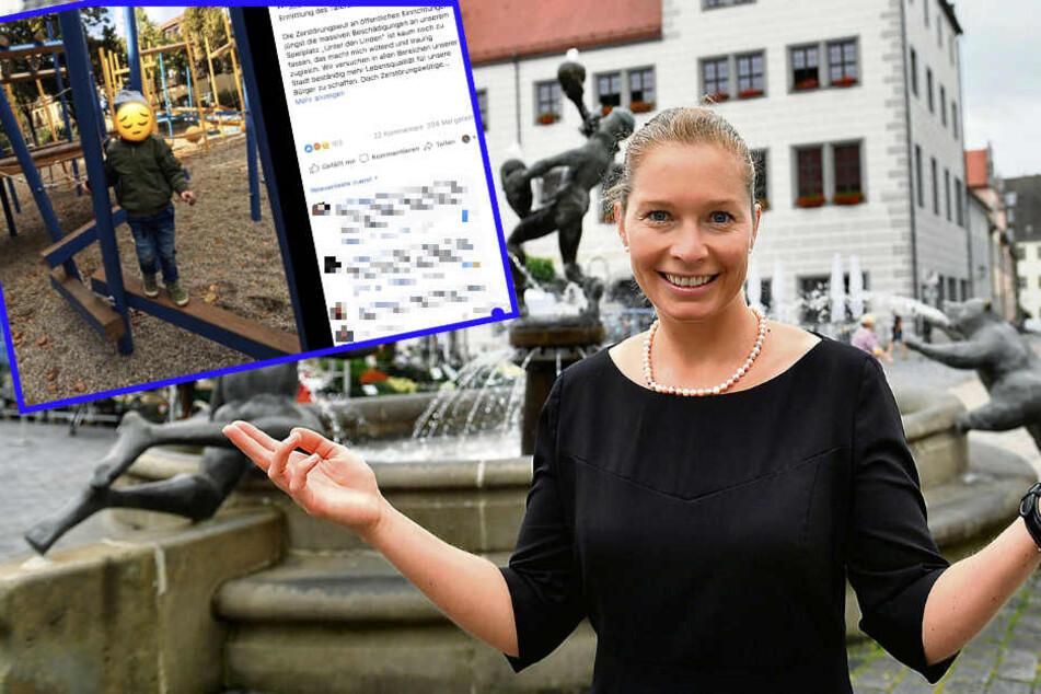 Spielplatz-Vandalen: Torgaus Bürgermeisterin setzt Kopfgeld aus