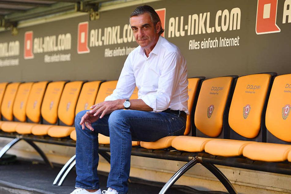 Sportchef Ralf Minge würde den Dynamo-Kader gern verkleinern.