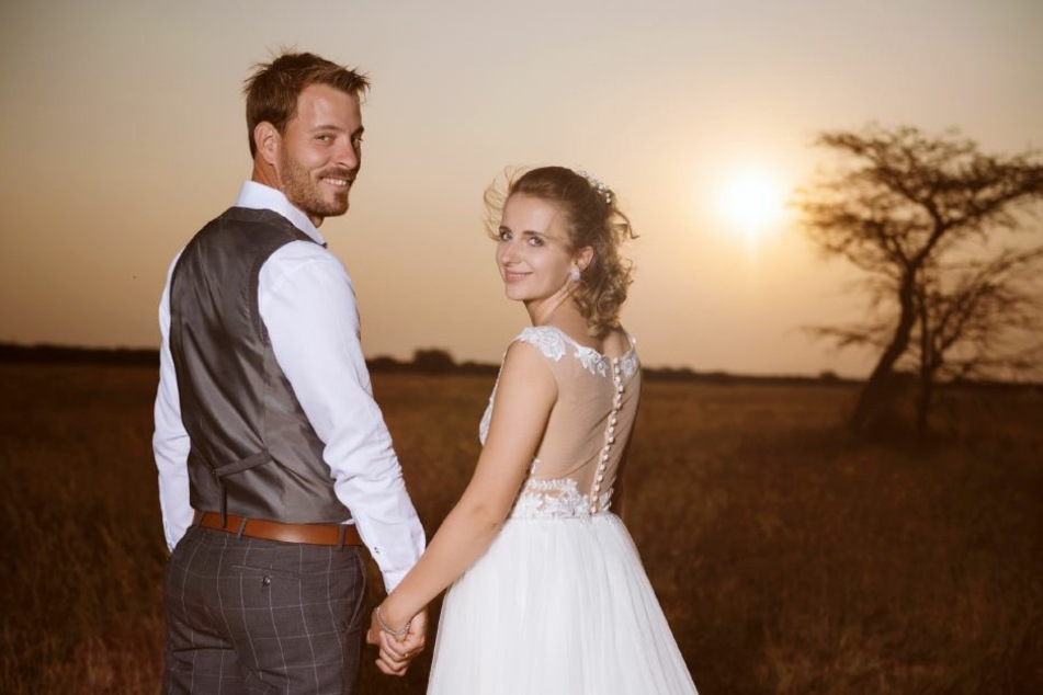 Im August folgte dann die Trauung in Namibia.