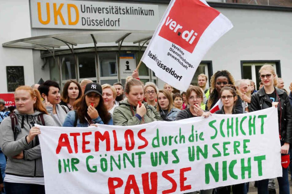 Patienten sind die Leidtragenden: Uni-Kliniken vor unbefristetem Streik