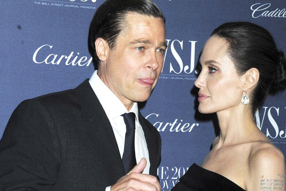 """Die beiden verliebten sich 2004 bei den Dreharbeiten zu """"Mr. und Mrs. Smith"""", da war Pitt noch mit Jennifer Aniston liiert."""