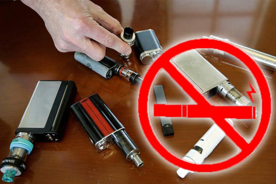 Hier ist der Verkauf von E-Zigaretten jetzt komplett verboten