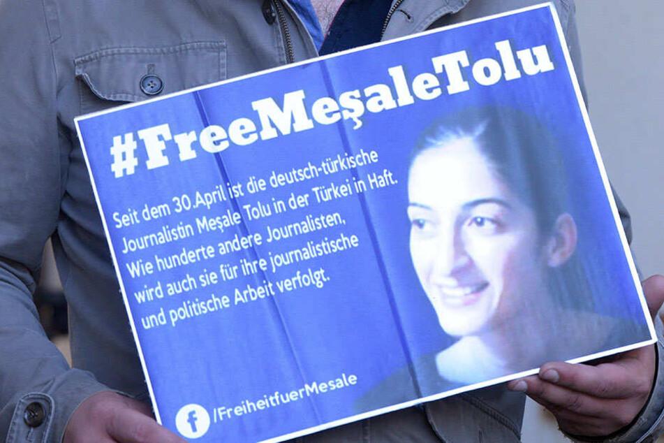 Mesale Tolu arbeitete in Istanbul für die kleine linke Nachrichtenagentur Etha. Die Journalistin war am 30. April festgenommen worden.