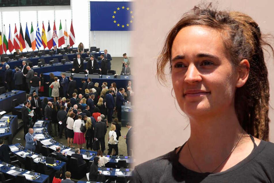 Sea-Watch-Kapitänin Rackete soll im EU-Parlament berichten