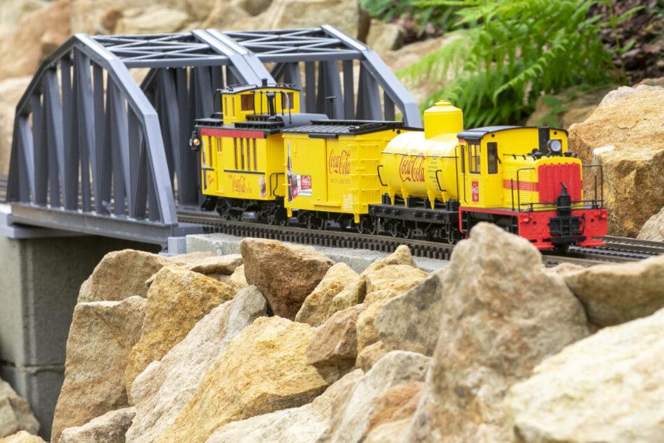 Die Eisenbahnwelten mit Amerika-Flair.
