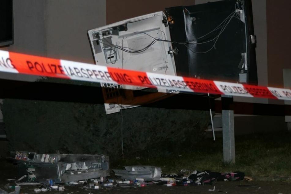 Am Leipziger Ostplatz ist ein Zigarettenautomat gesprengt worden. (Symbolbild)