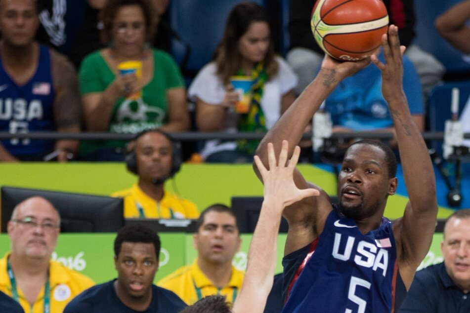 Team USA is finally back in business after rolling over Argentina in an Olympic tune-up