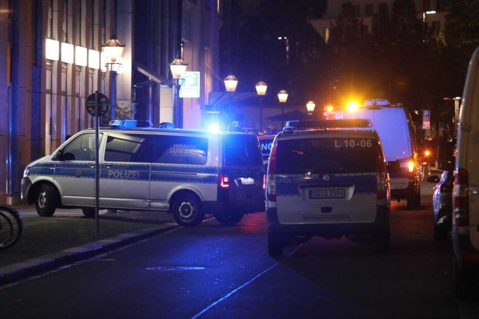 Polizei und Notarzt waren am Mittwochabend vor Ort.