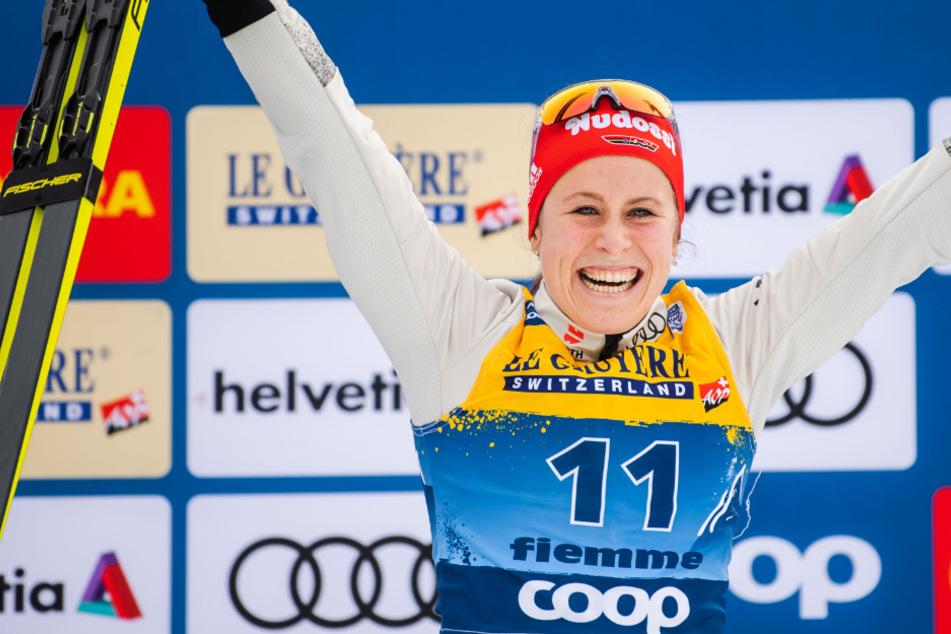 Das WM-Gesicht der Langläufer: Katharina Hennig bei Tour de Ski überzeugend