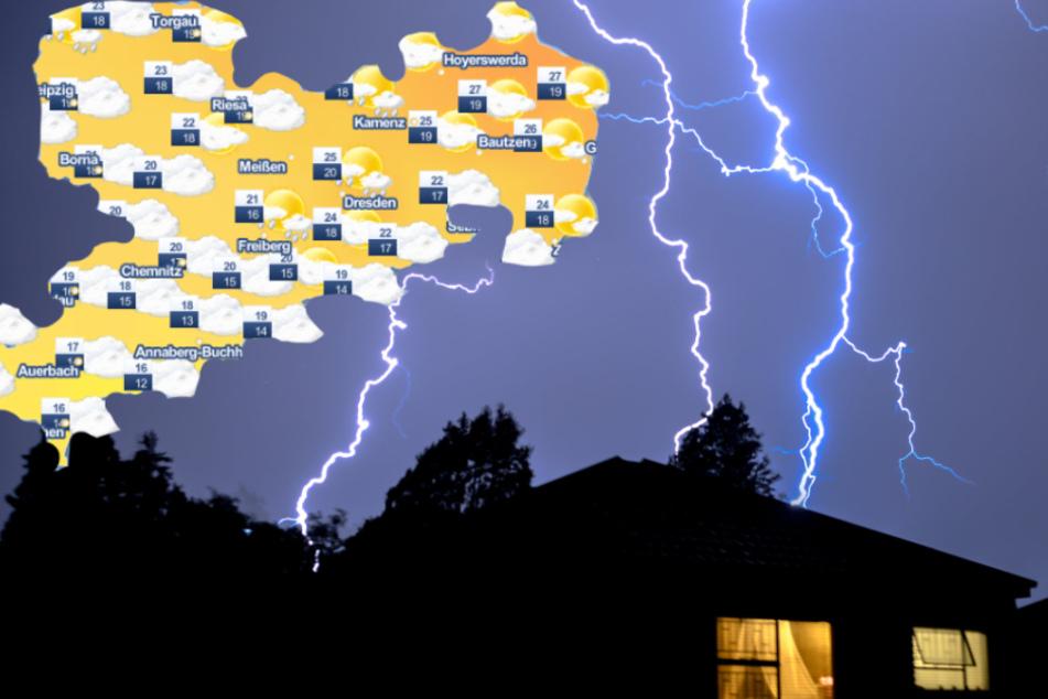Wetterwarnung für Sachsen: Jetzt kommt der große Knall!