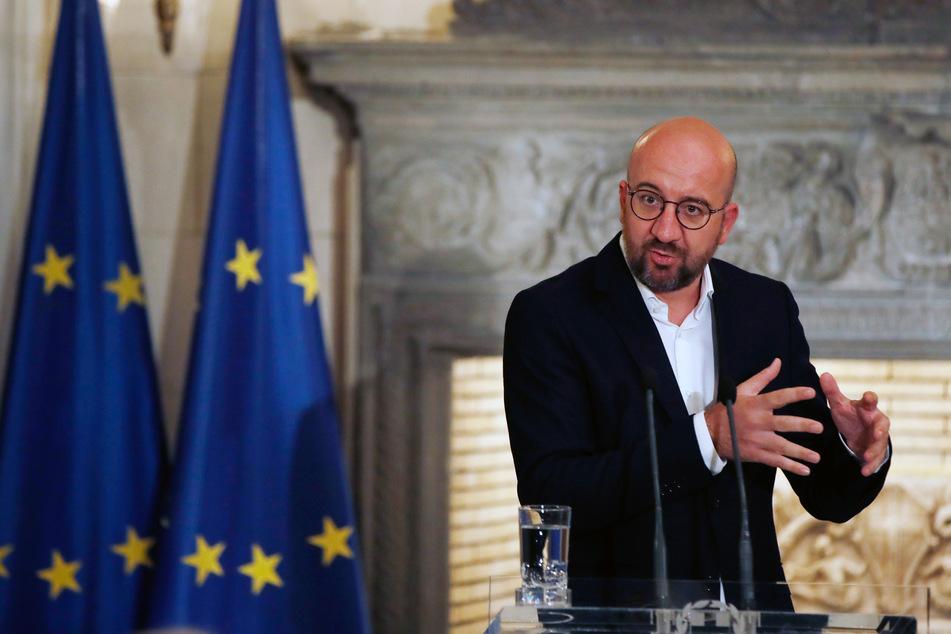 Charles Michel ist der Präsident des Europäischen Rates.