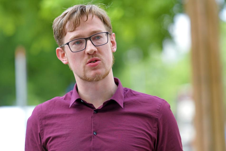 SPD-Stadtrat Stefan Engel (28).