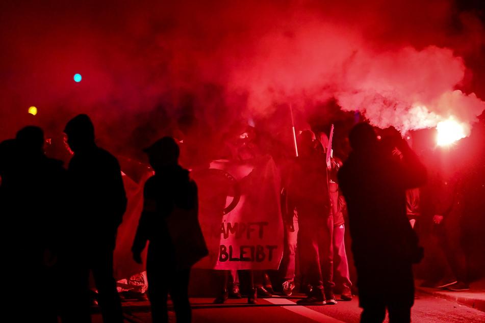 Erst in der vergangenen Woche war es in Leipzig zu gewalttätigen Auseinandersetzungen gekommen.