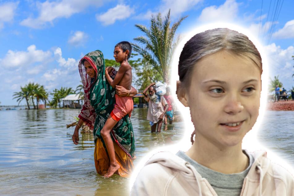 Greta Thunberg zeigt Mitgefühl für Indien und Bangladesch