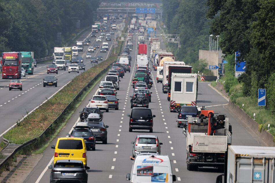 Besonders betroffen war die A7 in Richtung Süden. (Symbolbild)