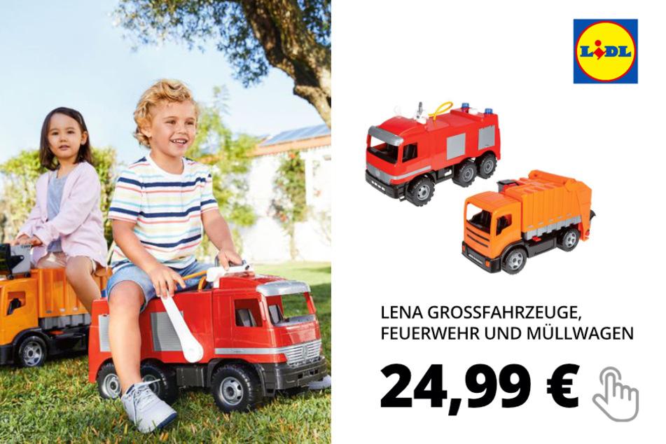 LENA Grossfahrzeuge, Feuerwehr und Müllwagen