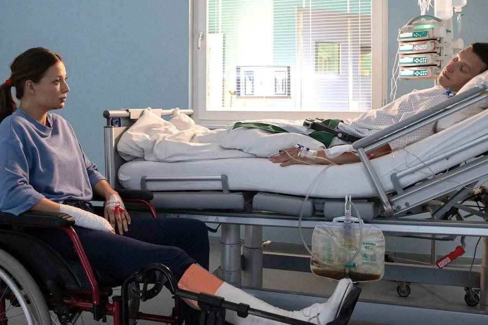 Nikki erfährt von Haukes Sterilisation. Ist die Ehe dadurch verloren?