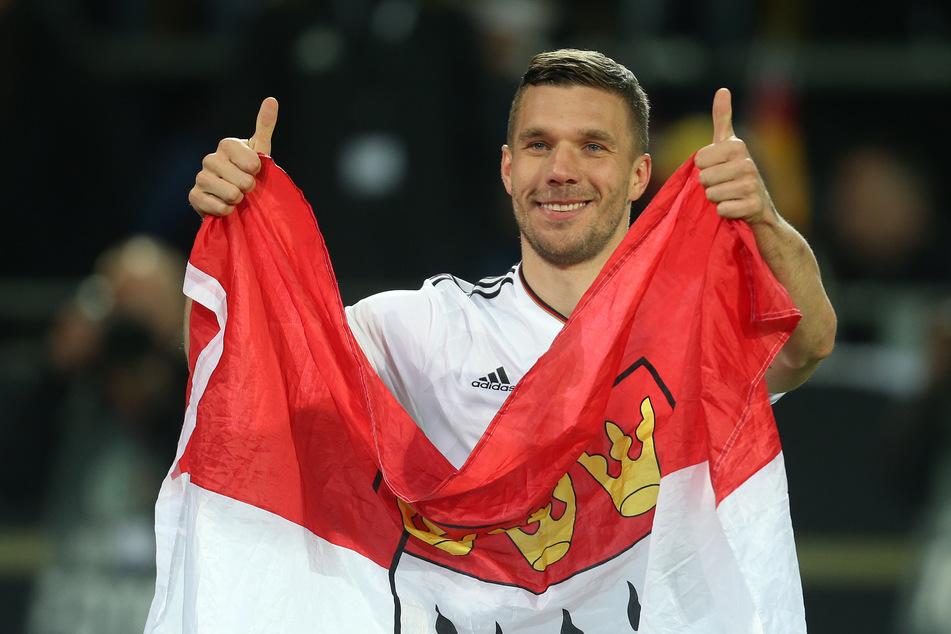 Lukas Podolski (36) wird seine Fußball-Karriere voraussichtlich in seinem Heimatland Polen beenden. Der einstige Nationalspieler wechselt zum Erstligisten Gornik Zabrze. (Archivfoto)