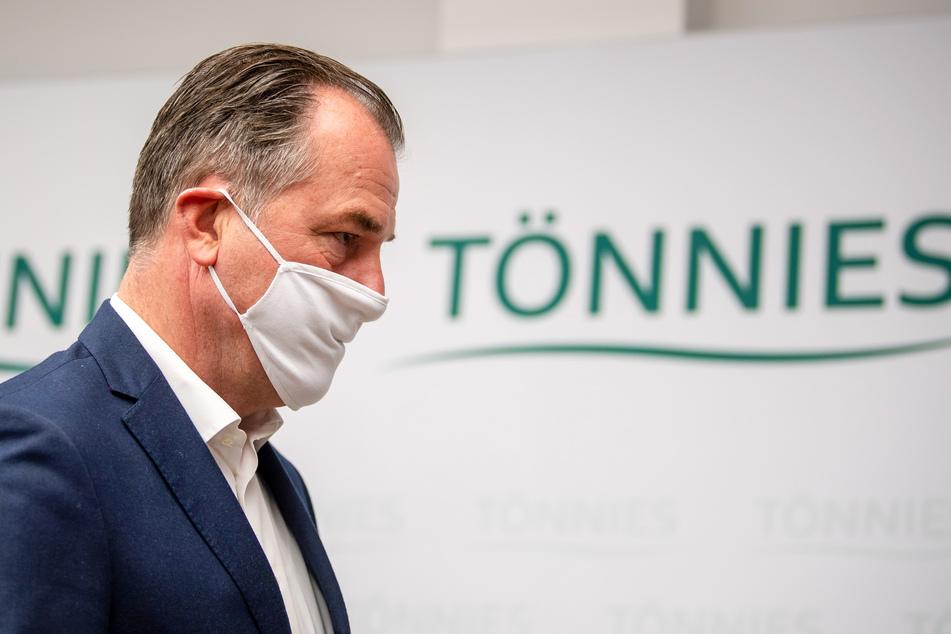 Clemens Tönnies, geschäftsführender Gesellschafter bei Deutschlands größtem Schlachtbetrieb Tönnies.