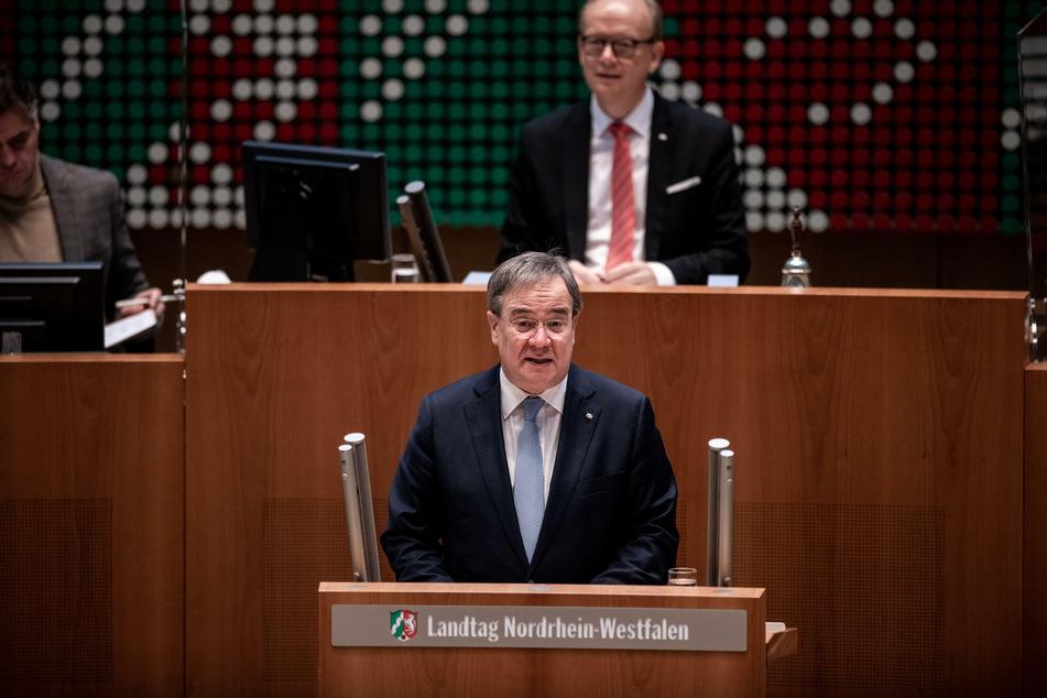 Nordrhein-Westfalens Ministerpräsident Armin Laschet (59, CDU).