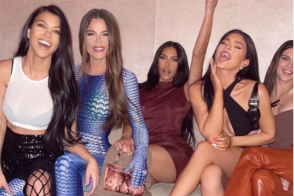 The Kardashian-Jenner sisters on a wild night out.
