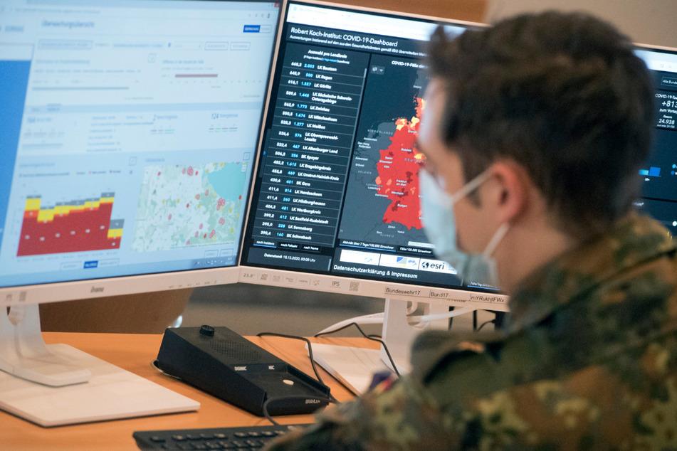 Soldaten unterstützen bereits Gesundheitsämter in Mecklenburg-Vorpommern bei der Corona-Kontaktnachverfolgung.