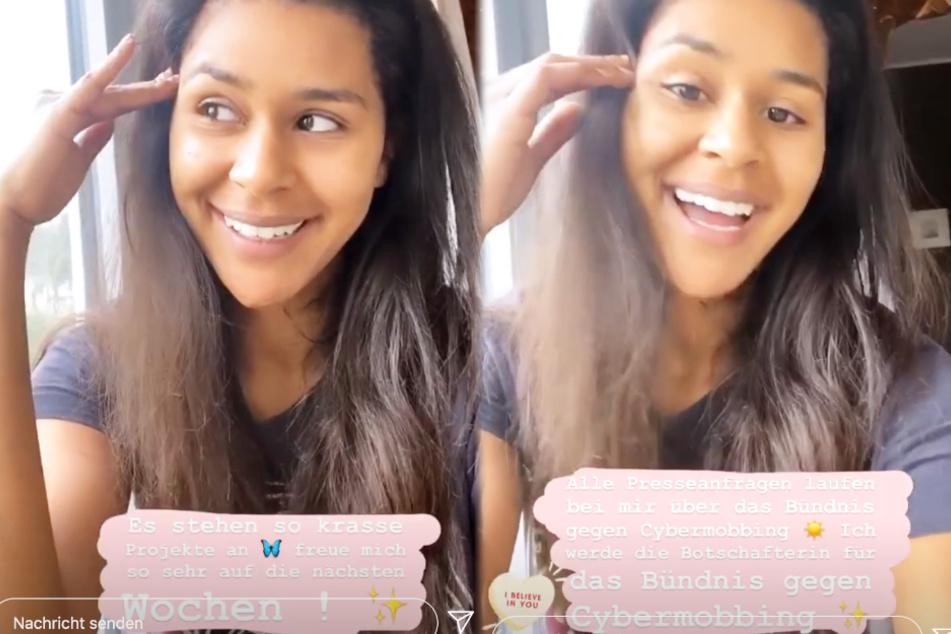 Die Montage zeigt Screenshots aus den Instagram-Stories von Lijana vom Samstagnachmittag.