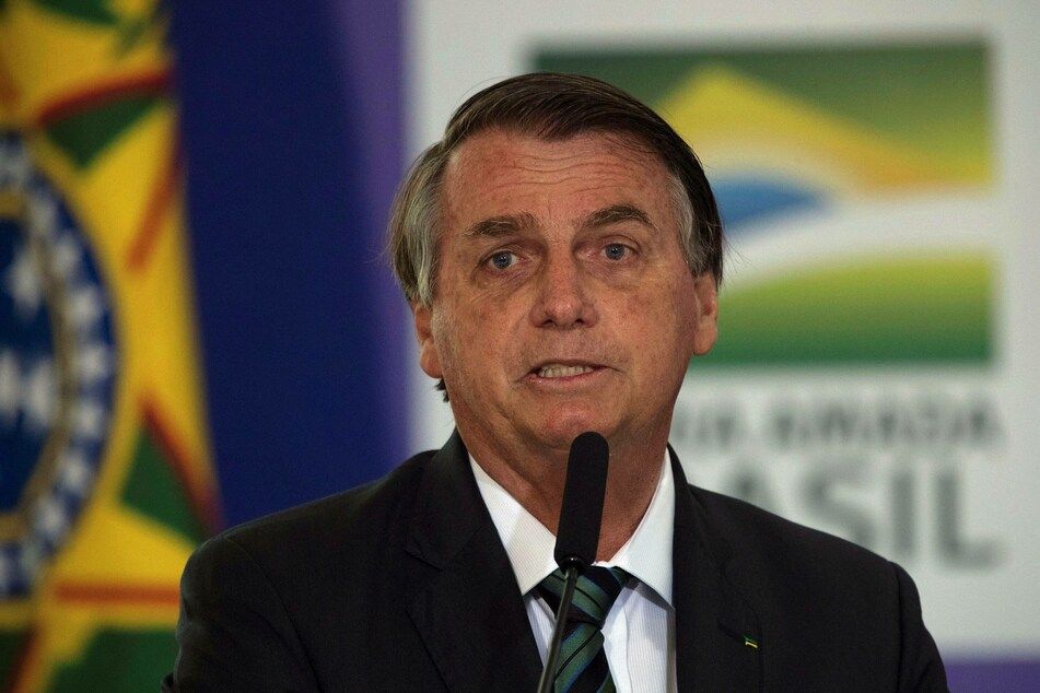Brazil's president Jair Bolsonaro suspended a corrupt senator after he was caught hiding money in his underwear.
