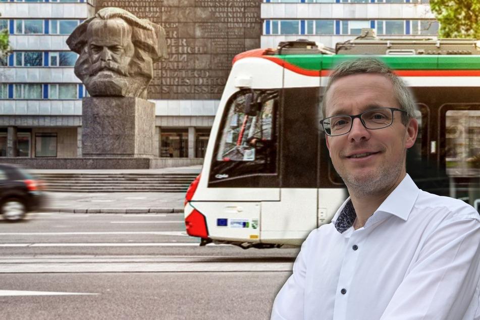 """Chemnitz: Boulevard """"Theaterstraße"""" und bald Bahnen am Chemnitzer Nischel"""