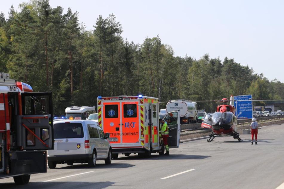 Biker stirbt bei Horror-Unfall: Rettungskräfte stecken fest!
