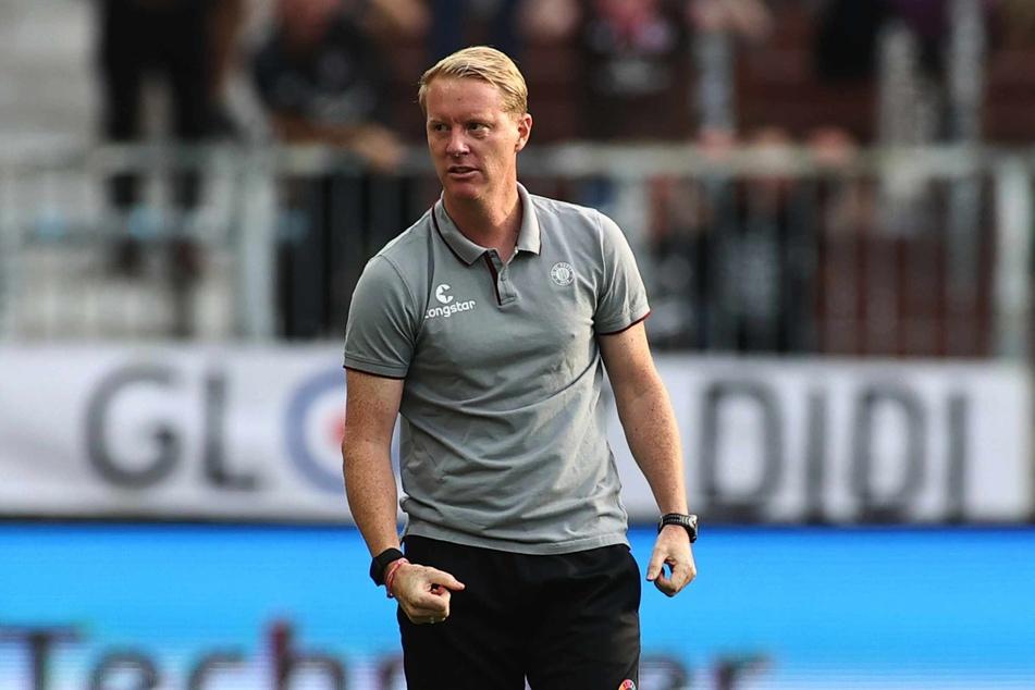 Trainer Timo Schultz (44) erwartet ein intensives Spiel gegen den FC Ingolstadt.