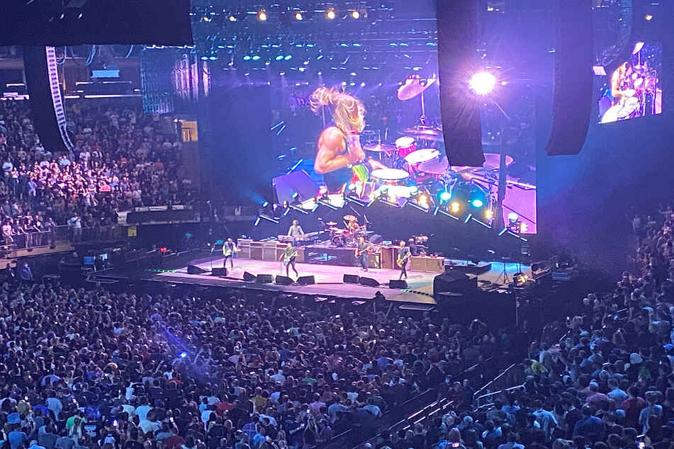 Foo Fighters rock Madison Square Garden's first concert back with a surprise guest
