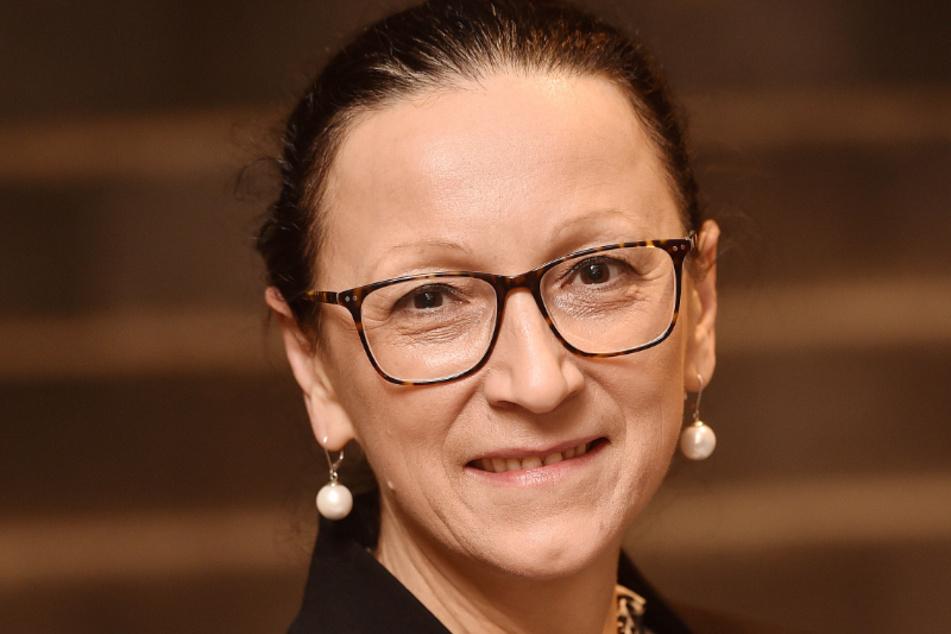DREWAG-Sprecherin Gerlind Ostmann (54)