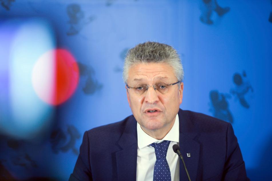 Lothar Wieler, Leiter des deutschen Robert-Koch-Instituts (RKI).