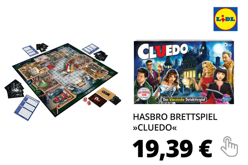 Hasbro Brettspiel »Cluedo«