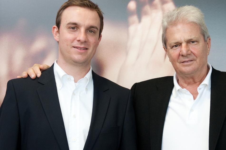 Daniel Hopp und Vater Dietmar.