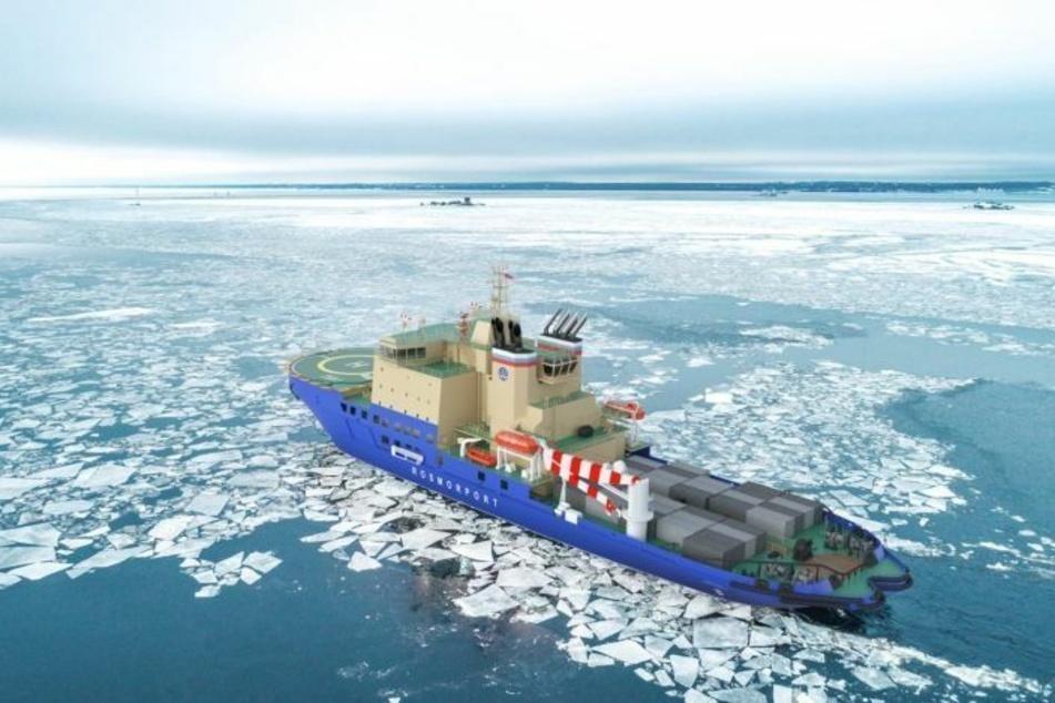 Das Schiff soll im Jahr 2023 vom Stapel laufen.