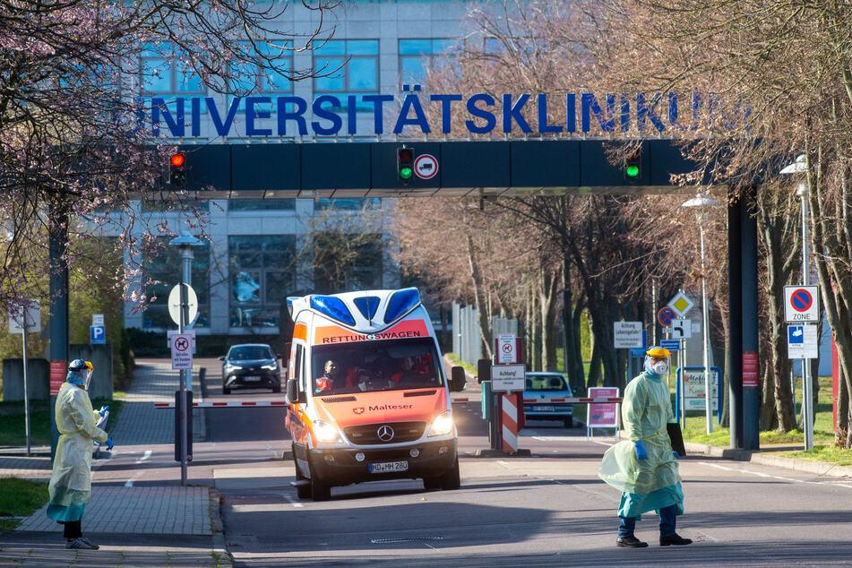 Nach einer Durchsuchung in der Uniklinik Magdeburg, berät der Aufsichtsrat am Donnerstag über die Angelegenheit. (Archivbild)