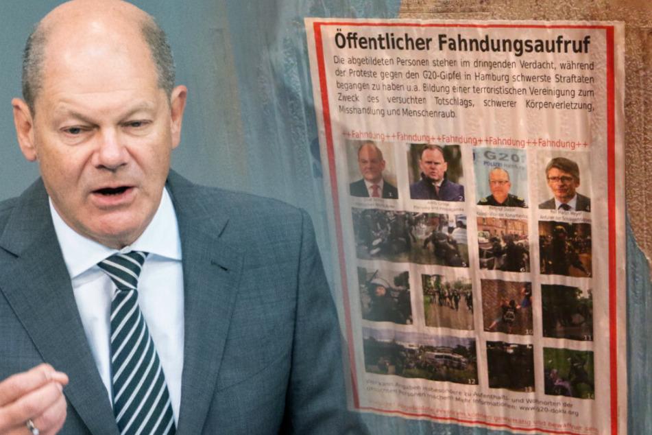 Olaf Scholz steht ganz oben auf der Liste. (Bildmontage)