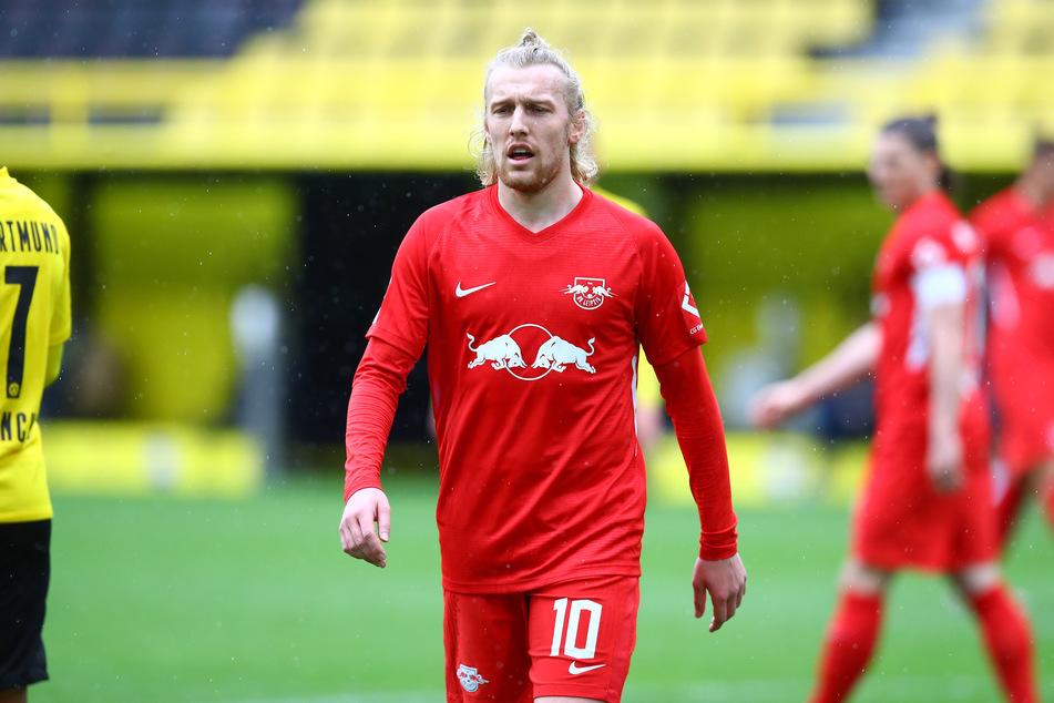 Emil Forsberg (29) bleibt RB Leipzig wohl noch ein Weilchen erhalten. Neu-Trainer Jesse Marsch (47) setzt offenbar auf den Schweden.
