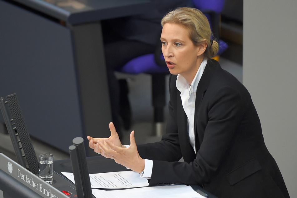 AfD-Fraktionsvorsitzende Alice Weidel kritisiert die Entscheidung.