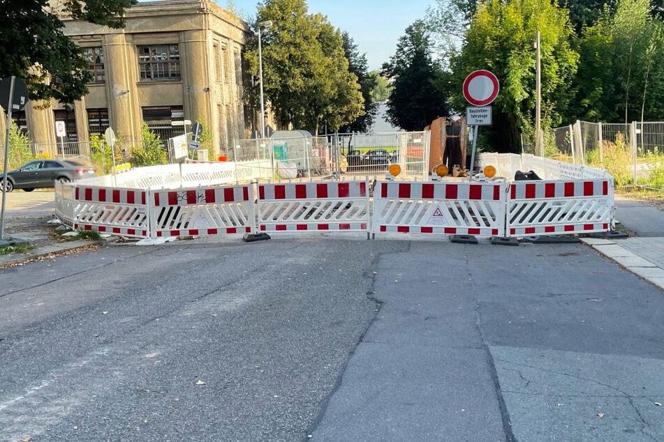 Die Vollsperrung in der Ulmenstraße bleibt noch bis 10. Dezember.