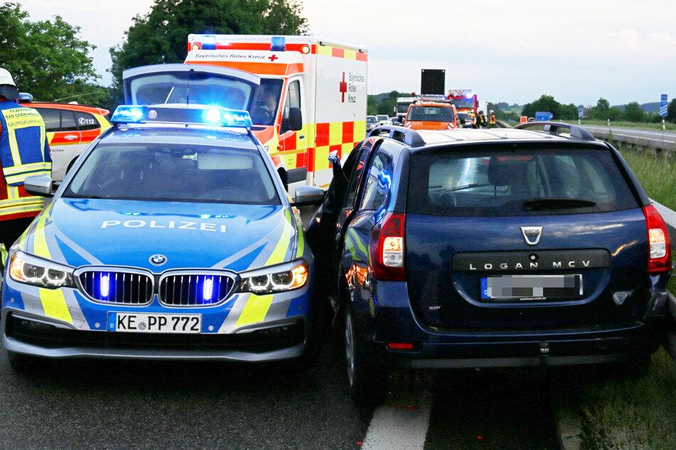 Alle Unfallopfer wurden vom Rettungsdienst in nahe gelegene Krankenhäuser gebracht.