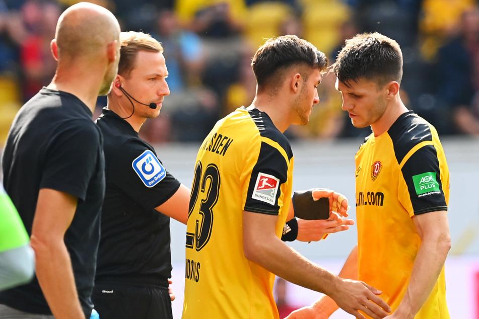 Robin Becker (24, r.) zeigte gegen den SV Werder Bremen eine überragende Leistung - Note 1!