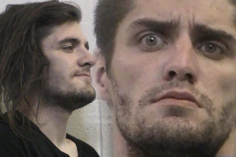 Jonah Barrett-Lesko (25) saß bereits wegen Hausfriedensbruch hinter Gittern, doch die Tierquälerei konnte ihm nicht nachgewiesen werden.